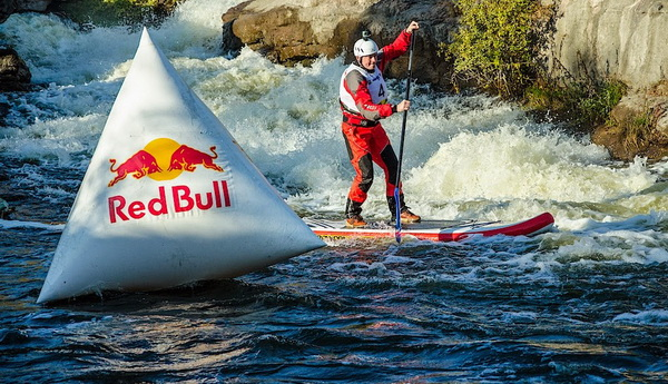 Red Bull SUP whitewater