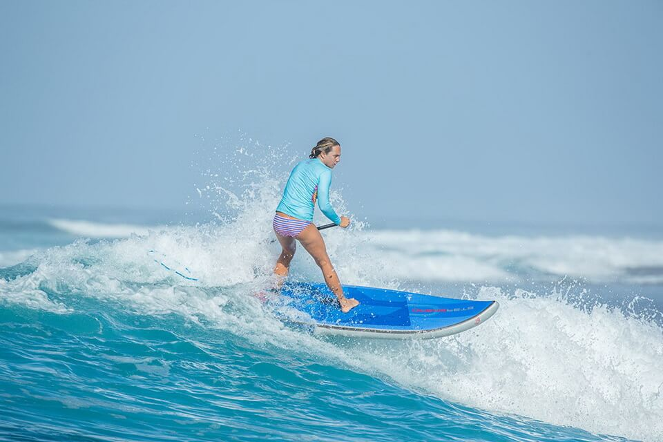 Starboard SUP surfing