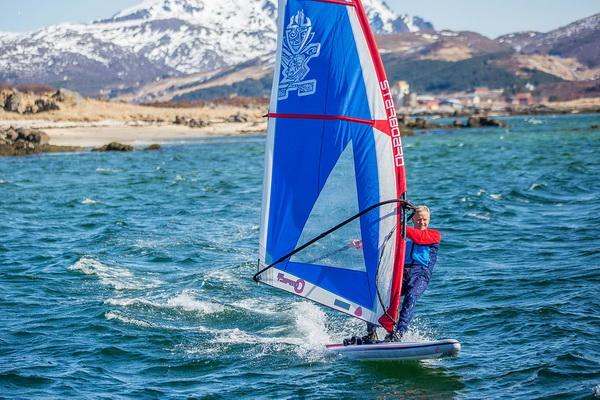 Windsurfing на SUP доске