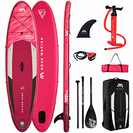 "Доска SUP надувная Aqua Marina 10'2"" All-Around Advanced CORAL 2021"