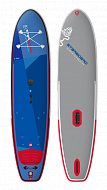 "Доска SUP надувная STARBOARD SUP WINDSURFING BLEND 11'2""+ DELUXE SC 2021"