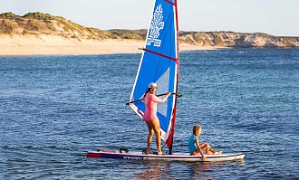 Комплект STARBOARD WATERMAN PACKAGE SUP WINDSURFING INFLATABLE WITH TOURING 12'6 вид 1