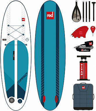 "Надувная SUP-доска Red Paddle 2020 9'6"" COMPACT"