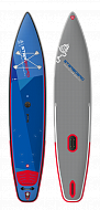 "Доска SUP надувная STARBOARD SUP WINDSURFING TOURING 12'6"" DELUXE SC 2021"