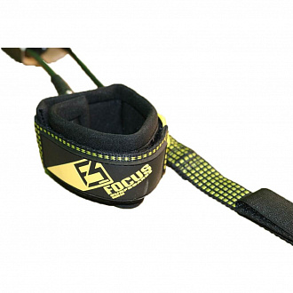 Лиш SUP витой FOCUS 10' COILED LEASH LONG TAIL PROTECTOR