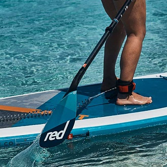 Весло SUP разборное RED PADDLE 2018 CARBON-CARBON (3 piece) LeverLock
