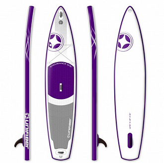Доска SUP надувная UNIFIBER 18 TOURING ENDURANCE ISUP 12'6