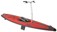 ДОСКА HOBIE MIRAGE ECLIPSE 12.0 DURA RED 2018