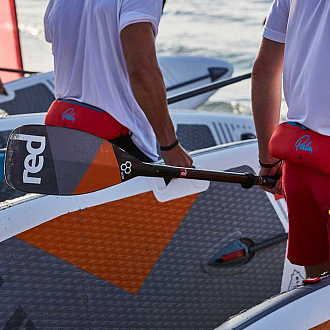 Весло SUP разборное RED PADDLE 2021 CARBON ULTIMATE (3 piece) вид 3