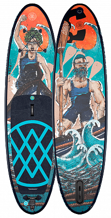 Доска SUP надувная Anomy the way of Desegin 10'6'' 2021 вид 3