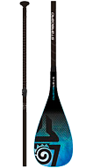 ВЕСЛО STARBOARD весло SUP ENDURO 2.0 TIKI TECH/HYBRID CARBON 3 PCS ADJUSTABLE S35 (SS18) (BLUE, M)