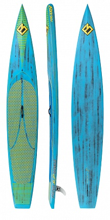 Доска SUP жесткая FOCUS 2017 CALI TURBO 14'0 VST Blue