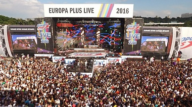 SUP на Дне спорта в Лужниках и Europa plus live 2017