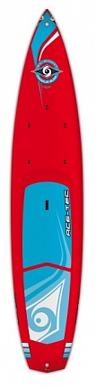 Жесткая доска SUP BIC Sport WING RED 12'6