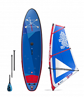 "Комплект STARBOARD WATERMAN PACKAGE SUP WINDSURFING INFLATABLE WITH iGO 10'8"" 2021"
